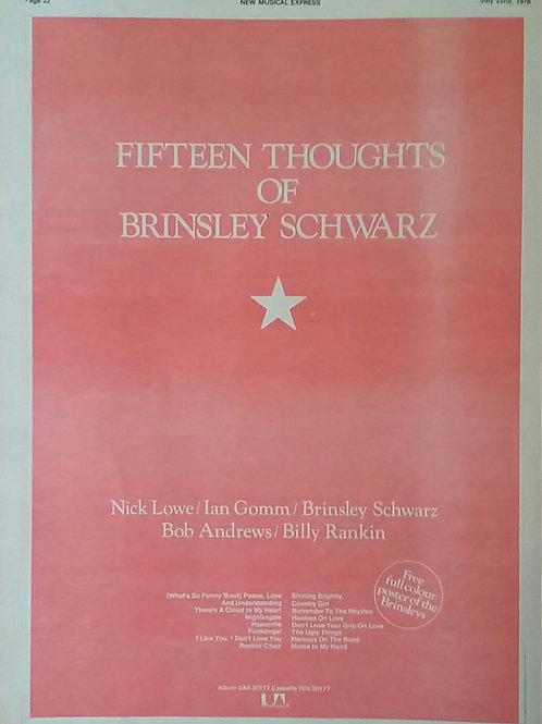 Brinsley Schwarz – Fifteen Thoughts Of Brinsley Schwarz
