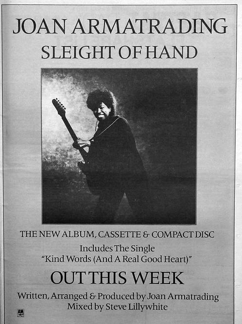 Joan Armatrading – Sleight Of Hand