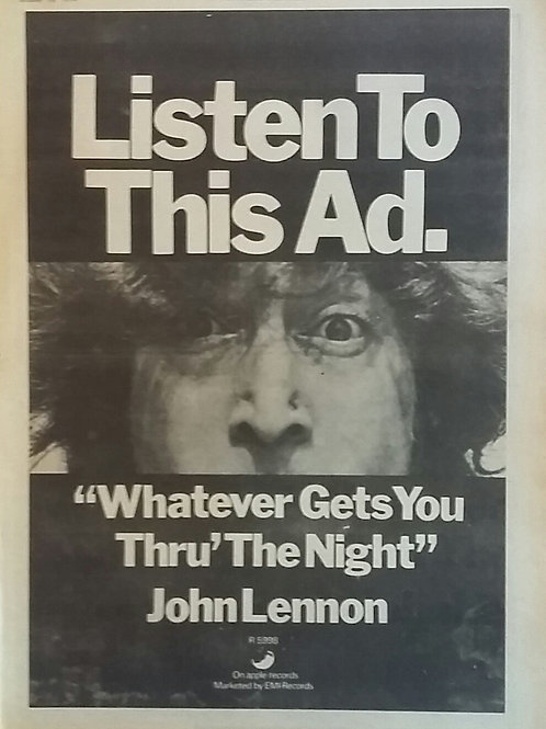 John Lennon - Listen To This Ad