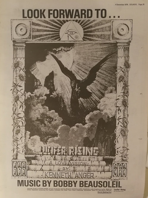 Bobby Beausoleil ‎– The Lucifer Rising Suite