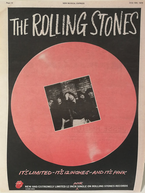 Rolling Stones - Pink Limited Single