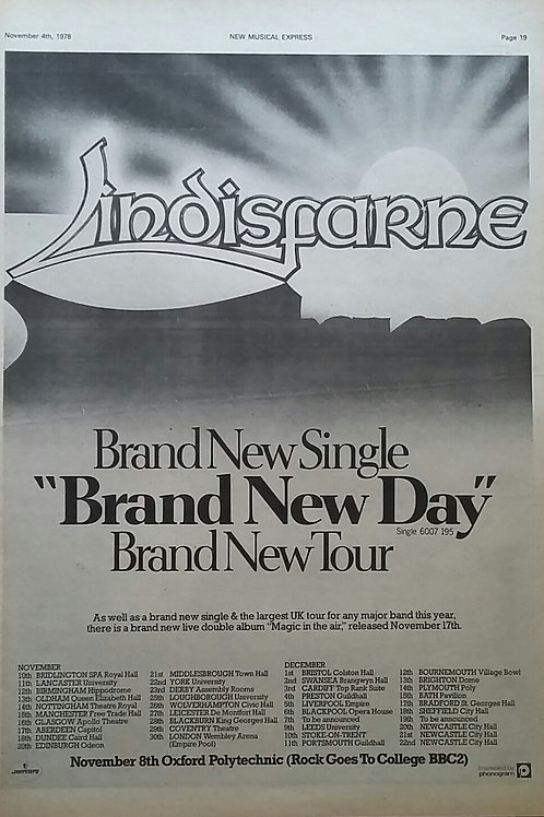 Lindisfarne – Brand New Day