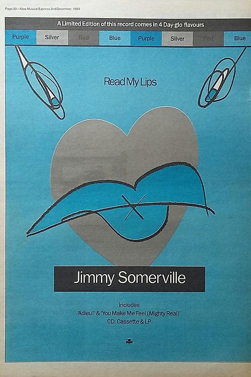 Jimmy Somerville - Read My Lips