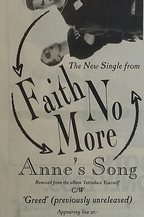 Faith No More - Anne's Songg