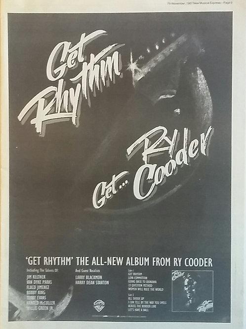 Ry Cooder - Get Rhythim