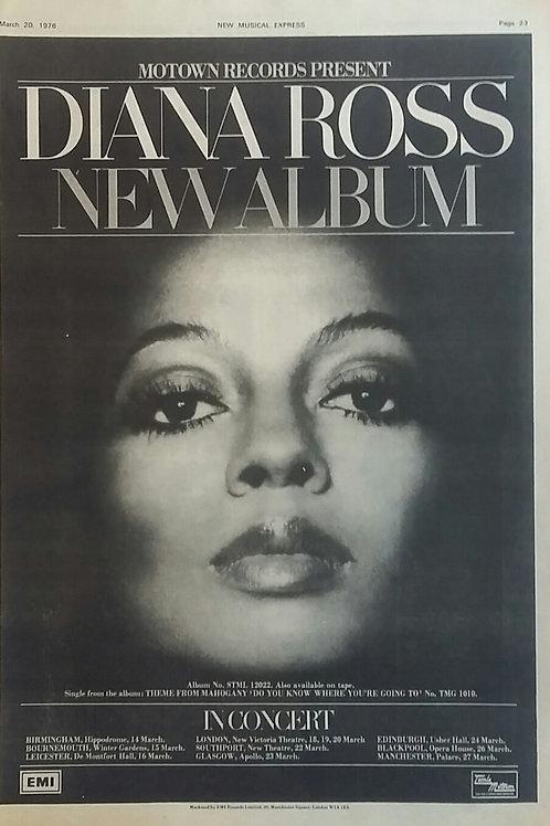 Diana Ross - New Album
