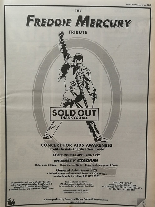 Freddie Mercury - Tribute