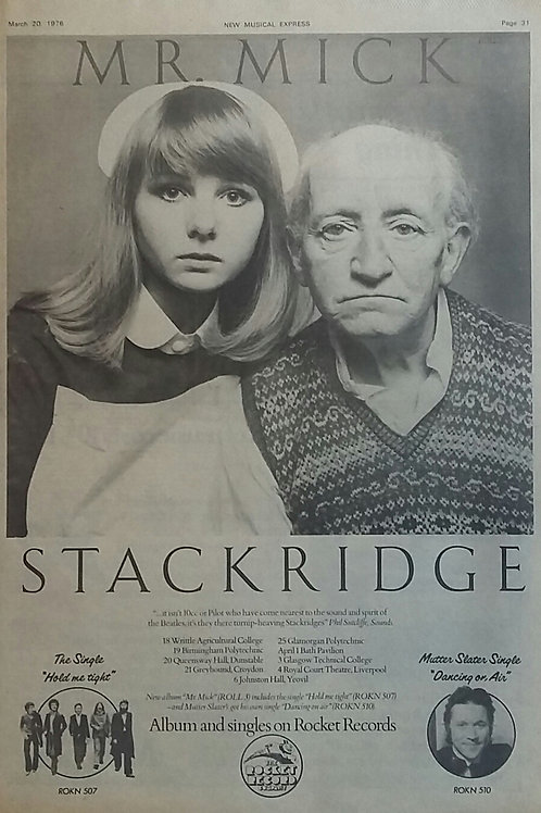 Stackridge ‎– Mr. Mick