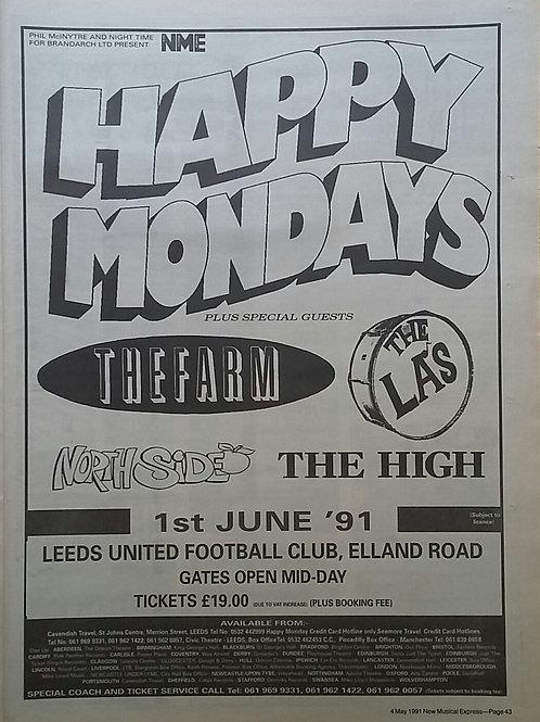 Happy Mondays - Concert