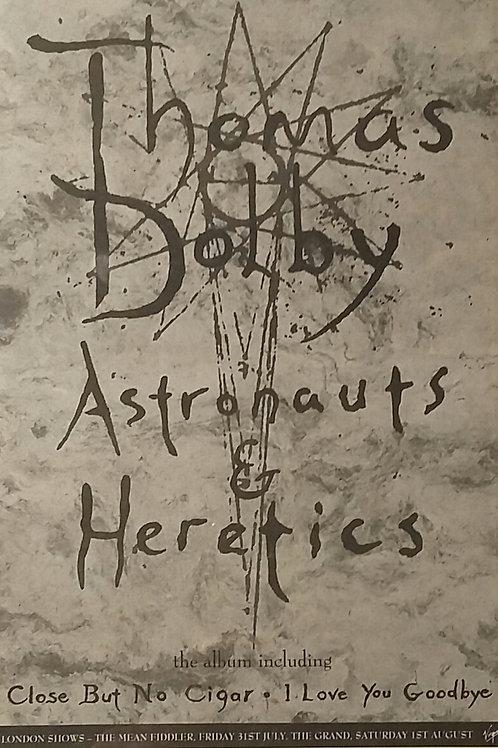Thomas Dolby - Astronaut & Heretics
