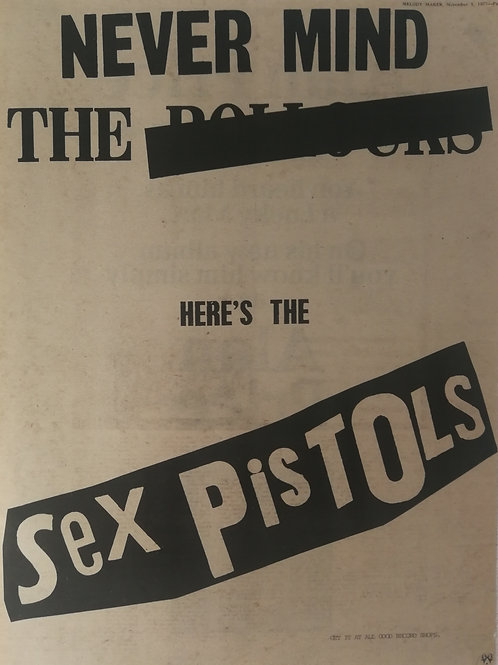 Sex Pistols - Never Mind The Bullocks