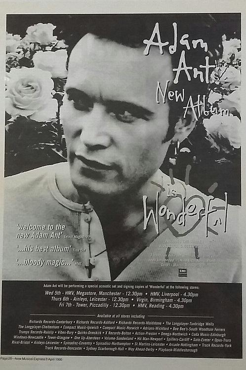 Adam Ant's - Is Wonderful
