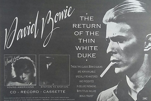 David Bowie - The Return Of The Thin White Duke