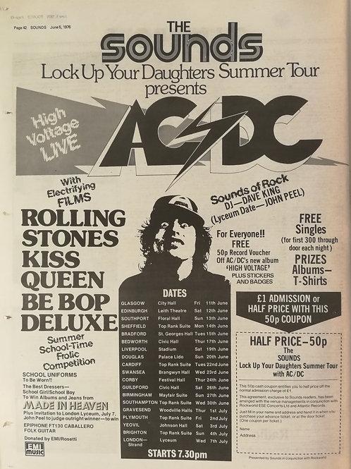 Sounds - Summer Tour