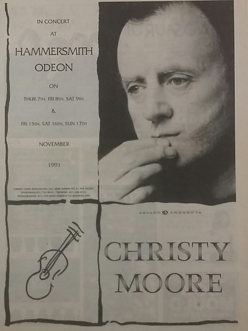 Christy Moore - Hammersmith Odeon