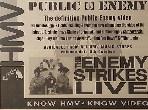 Public Enemy - The Enemy Strikes Live