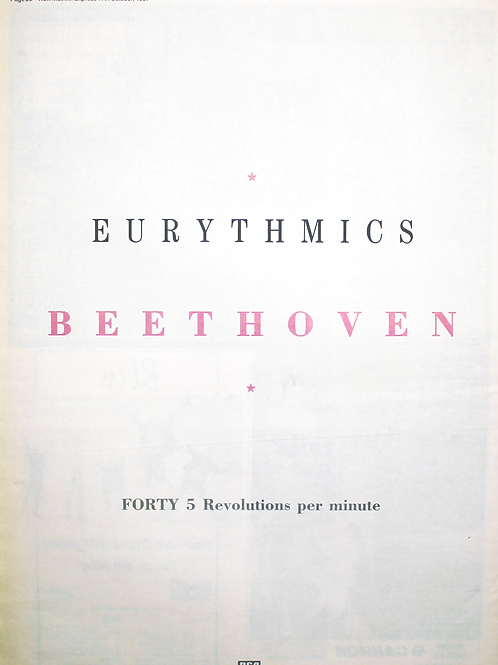 Eurythmics - Beethoven