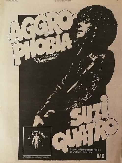 Suzi Quattro - Aggro Phobia