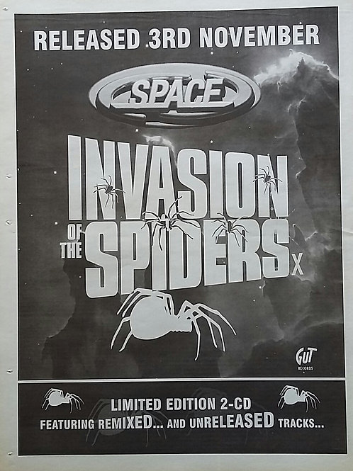 Space  – Invasion Of The Spiders