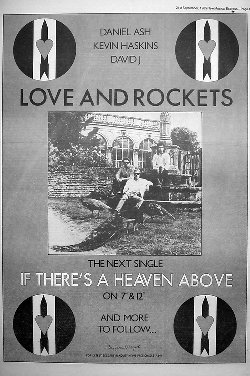 Love And Rockets ‎– If There's A Heaven Above