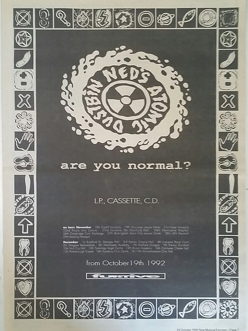 Ned's Atomic Dustbin ‎– Are You Normal?