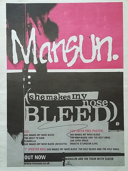 Mansun – She Makes My Nose Bleed