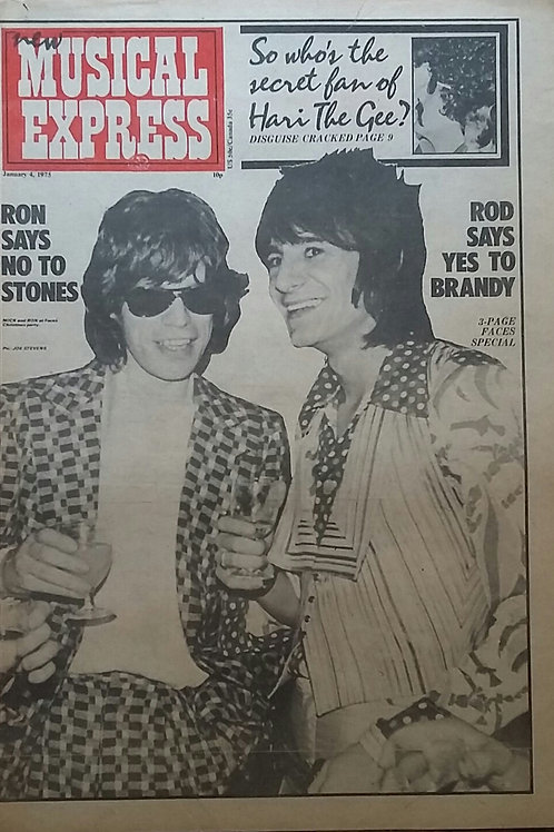 Rolling Stones - Mick Jagger / Ron Wood