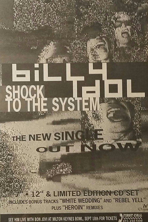 Billy Idol - Shock To The Sytem