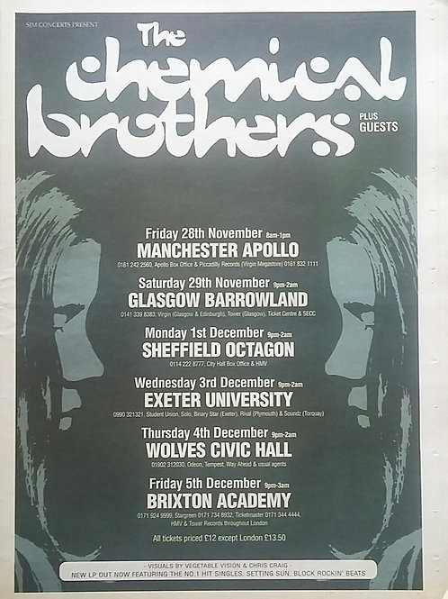 The Chemical Brothers - Tour