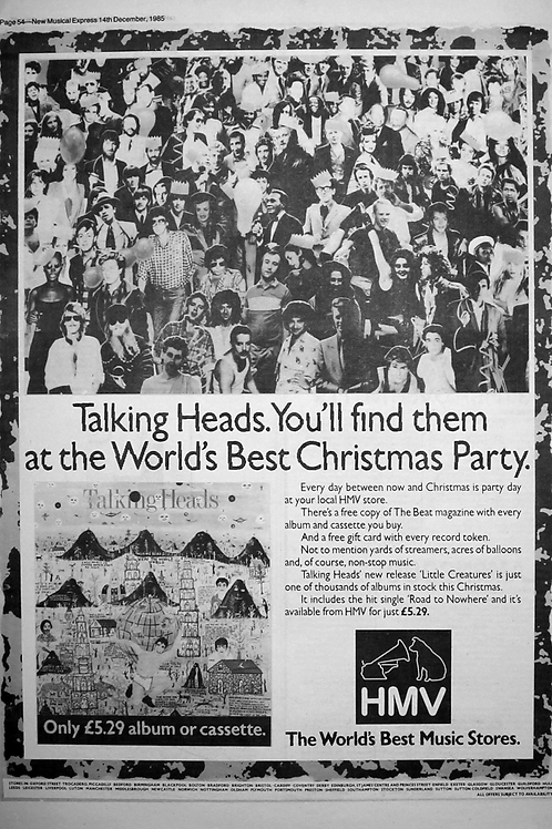 Talking Heads - World Best Christmas Party