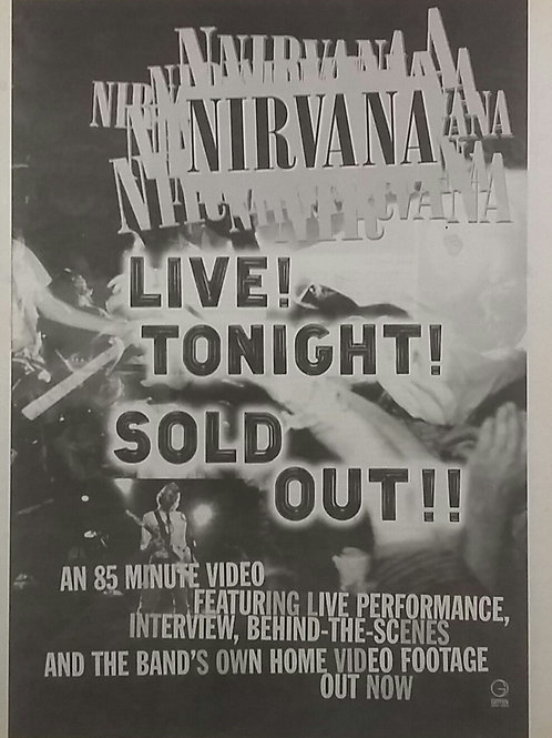 Nirvana - Live Tonight !