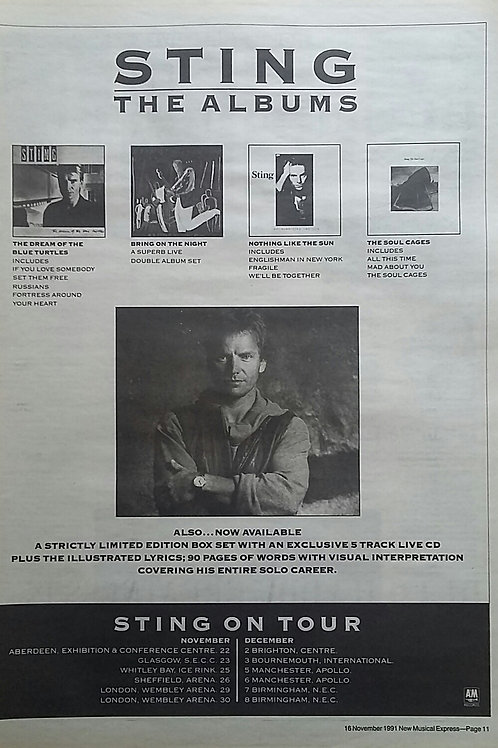 Sting - The Albums
