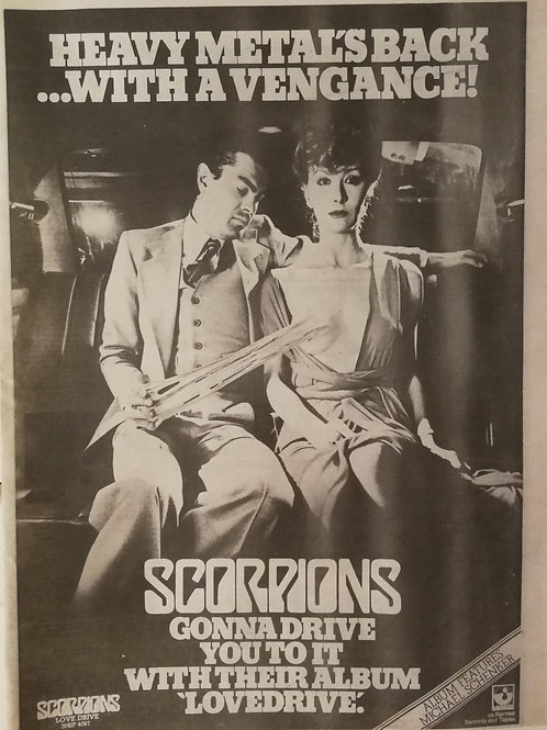 Scorpions - Love Drive
