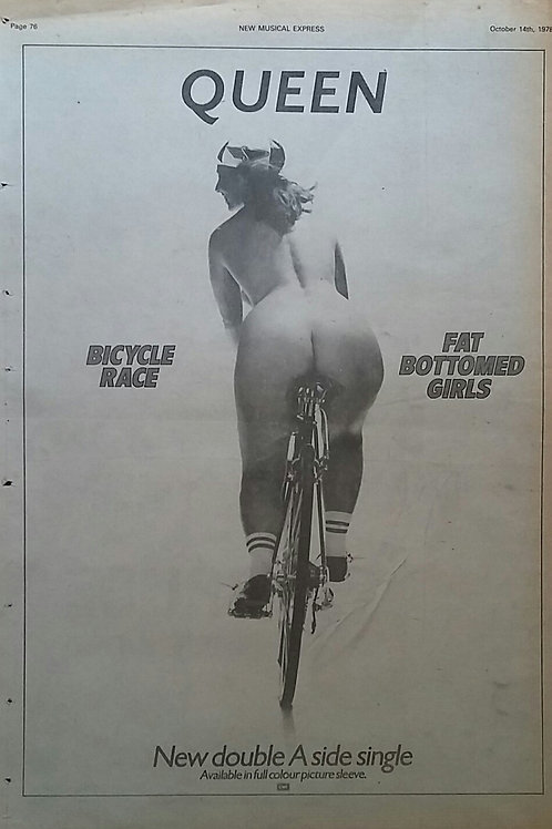 Queen - Bicycle Race / Fat Bottomed Girls