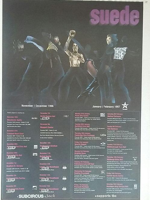 Suede - Tour 1996