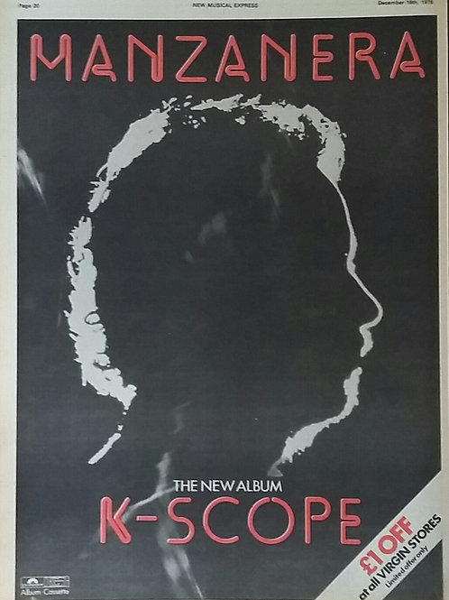 Phil Manzanera – K-Scope