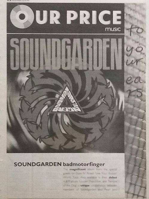 Soundgarden – Bad Motor Finger