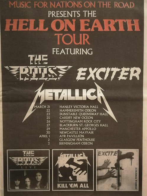 Metallica - Hell On Heart Tour