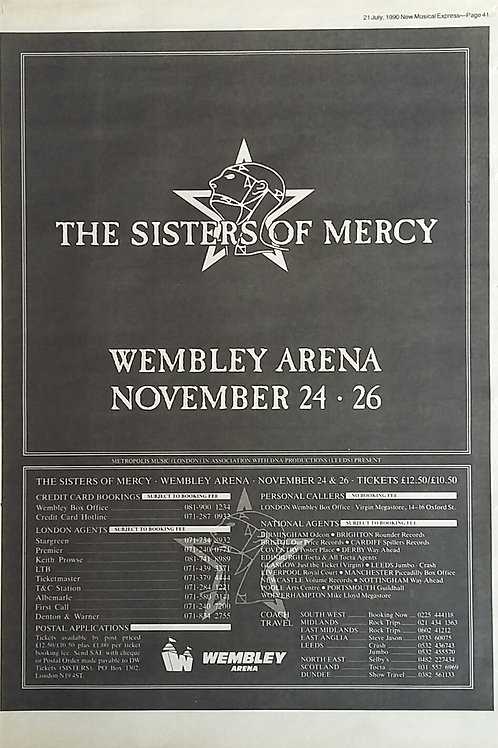 Sister Of Mercy - Wembley Arena