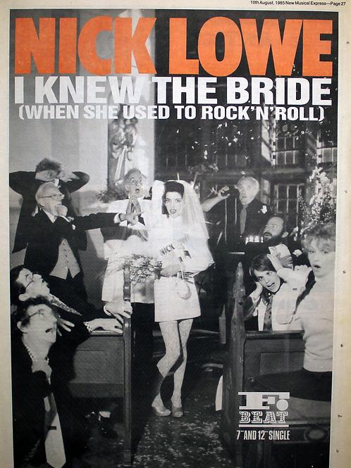Nick Lowe - I Knew The Bride