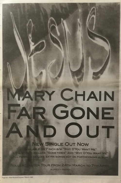 The Jesus And Mary Chain - Far Gone And Out