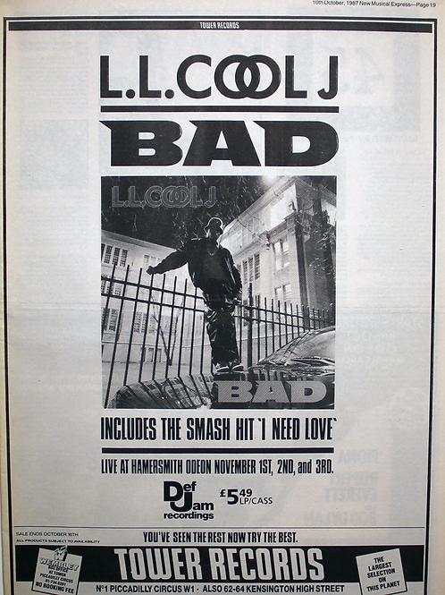 L M Cool J - Bad