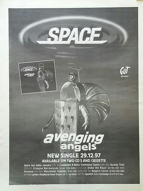 Space  ‎– Avenging Angels