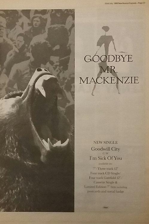 Goodbye Mr. Mackenzie - Goodwill City