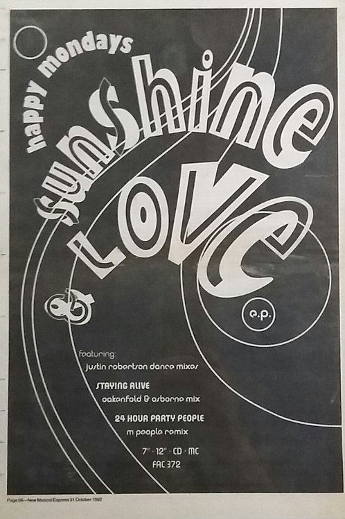 Happy Mondays - Sunshine Love