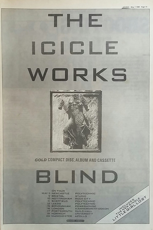 The Icicle Works ‎– Blind