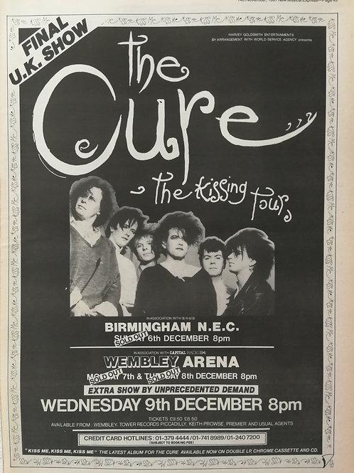 Cure - Kissing Tour