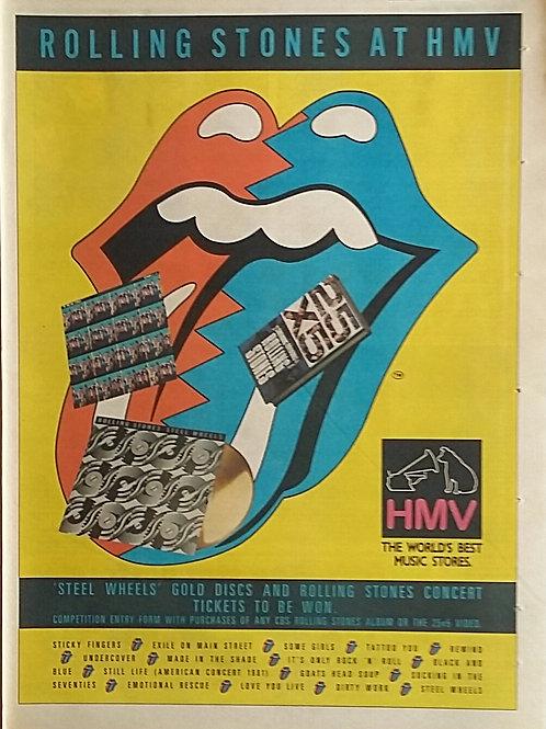 Rolling Stones - At Hmv