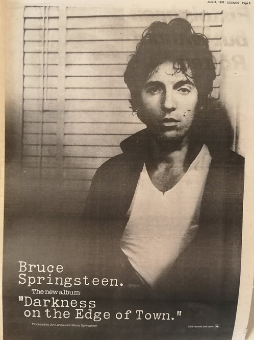 Bruce Springsteen - Darkness Of The Edge Of Town