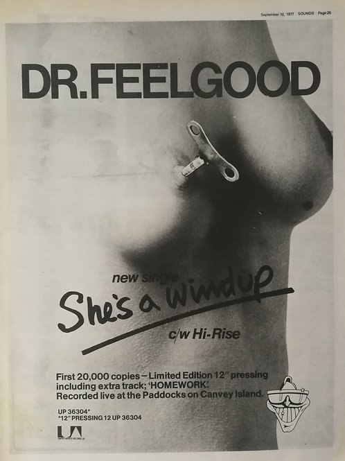 Dr. Feelgood - She's A Windup